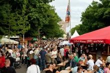 16. Leipziger Bierbörse: Überdimensionaler Biergarten wird auf der Alten Messe Leipzig eröffnet