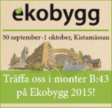 Träffa oss på Ekobygg