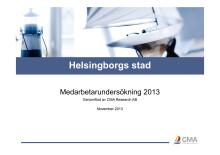 Medarbetarundersökning Hborg stad 2013