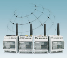 Övervaka och styr med SMS