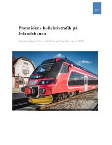 Framtidens kollektivtrafik på Inlandsbanan