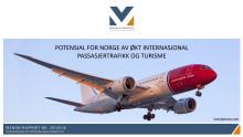 Potensial for Norge av økt internasjonal passasjertrafikk og turisme