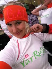 Läs Mikaela Andersson bloggpost om Vår Ruset och #TeamGöteborgs fina insats
