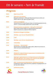 Program regionalt forum den 18 november