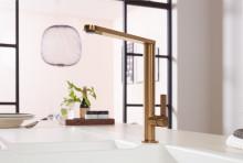 Nouvelles finitions haut de gamme pour les robinetteries de cuisine - Or, bronze et anthracite subliment l'espace évier
