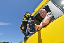 Er fährt um jedes Sternchen – mit Scania Ecolution!