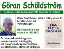 Göran Schöldström föreläser i Fellingsbro