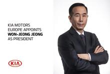 KIA Motors Europe udnævner Won-Jeong Jeong til Præsident