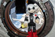 """""""Kirobo"""" första roboten som pratar i rymden"""