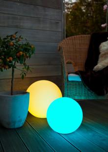 Välj färg efter stämning - matchande ljusglob för moderna hem