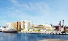 Gjutningen klar på miljardbygget i Helsingborg
