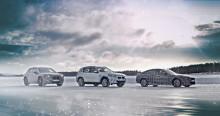Elektrisk spenning på glattisen: BMW iX3, BMW i4 og BMW iNEXT er testet i den nordiske vinterkulda