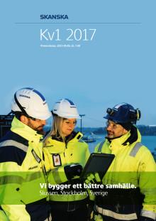 Skanska Q1 2017