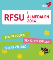 Hett program för RFSU i Almedalen 2014