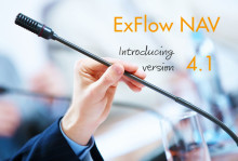 New release of ExFlow NAV - announced for june 15th