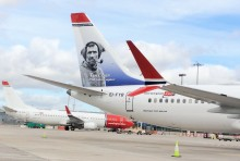 Norwegian double daily flights from Dublin to New York take off