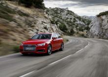 Nytt rekordår för Audi med över 1,8  miljoner levererade bilar 2015