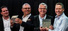 Härryda och Borås fick Sveriges Byggindustriers pris