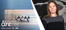 Nordeas Tina Sandvik är en av inspiratörerna under Deloittes kvinnliga nätverk i Åre