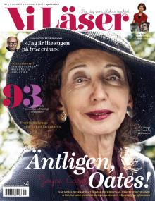 Vi Läser nr 5 2016: Äntligen Joyce Carol Oates!