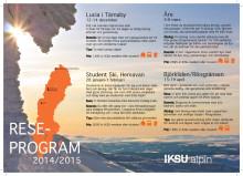 Säsongens resor med IKSU alpin