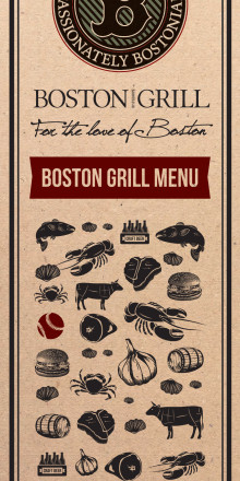 Boston Grill Menu
