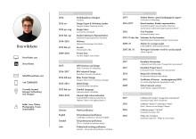 CV Lina Wilkens, Michael Treschow-stipendiat 2017