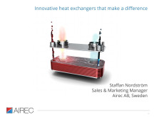 Compressed air cooling presentation