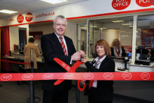 It's all eyes on the clocks as Porthcawl Post Office unveils new look and opening hours