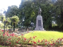 Forres war memorial recognised as among best in region
