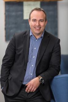 Presselunch: HP Norge - det første året.  Verner Hølleland, administrerende direktør i HP Norge inviterer