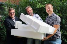 ITON får Vinnova-stöd för teknikutveckling inom återvinning av frigolit