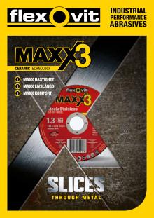 Flexovit Maxx3 Kapskivor - Broschyr