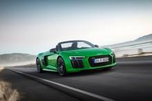 Audi R8 Spyder – nu endnu stærkere