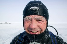 Unik expeditionsresa till Svalbard med BBC-filmaren Doug Allan