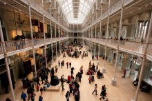 Scottish visitor attractions record an increase in visitor numbers for the fifth year in a row