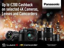 Panasonic Announces Imaging Winter Cashback Offers