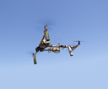 Flygande filmkameror – drönardebatt på Tekniska museet