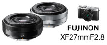 FUJINON XF27mm F2,8