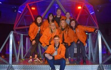 The Finegreen Team do the Crystal Maze