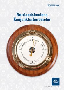 Norrlandsfondens konjunkturbarometer hösten  2014