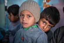 """Efter åtta års krig i Syrien, känner en tredjedel av barnen sig """"alltid eller ofta"""" rädda"""