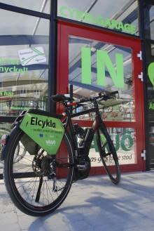 Växjö höjer cykelstatusen - underlättar för cyklister att åka kollektivt