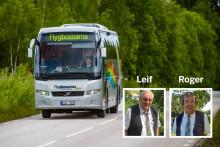 Åk med Roger och Leif från Visby flygplats i sommar!