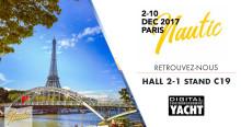 Digital Yacht sera présent au Nautic sur le stand C19 - Hall 2-1