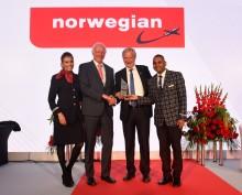 Norwegian sai jälleen kansainvälisen tunnustuksen – Vuoden lentoyhtiö
