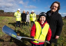 Construction of new Linkwood Primary gets under way
