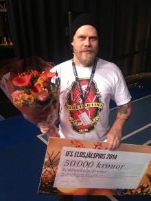 Ifs Eldsjälspris till Pierre Holm från Krokom