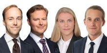 Cushman & Wakefield storsatsar med fyra nya medarbetare till Valuation & Advisory - möter morgondagens behov och stärker sin marknadsledande position