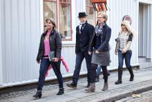 Positiv bild av Alingsås i Sverige